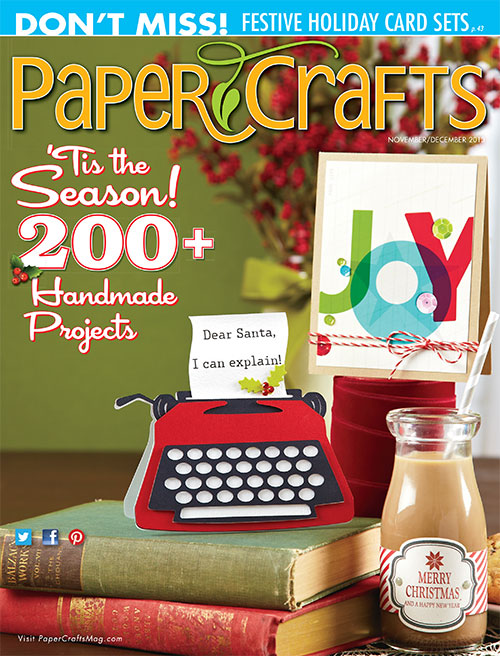 Paper Crafts Nov Dec 2013