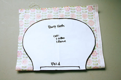 How to Sew a Flannel Burp Cloth | eHow
