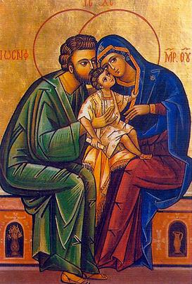 SAGRADA FAMILIA. Fiesta Domingo siguiente a la Navidad