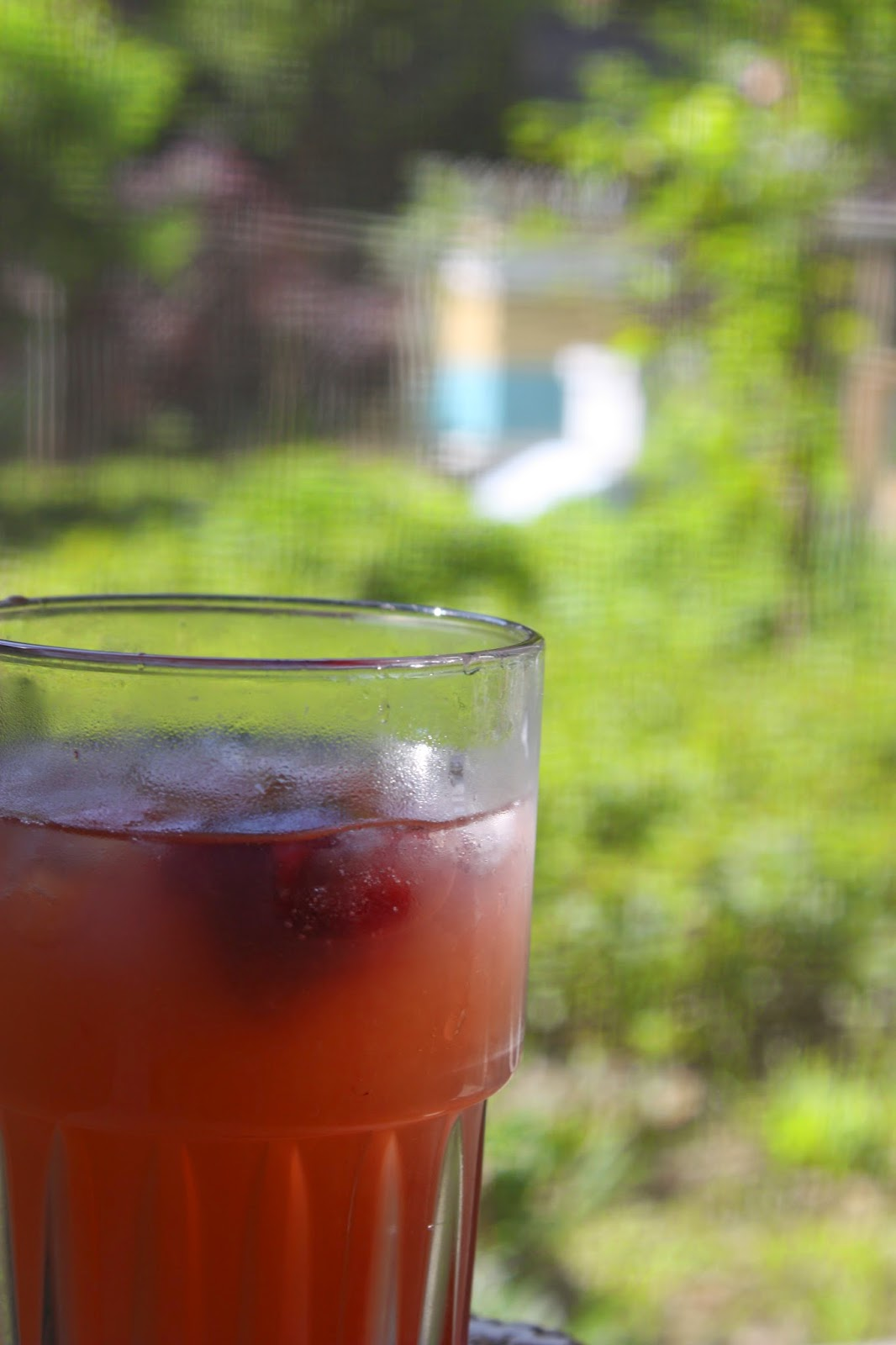 Summer afternoon, rum runner and bee hives