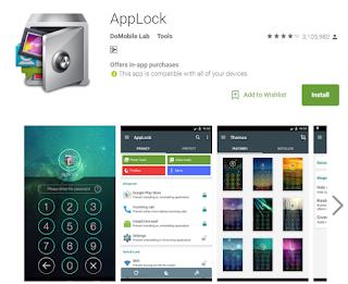 Aplikasi Android Terbaru 2016 Applock
