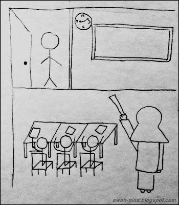 lecturer mengajar dalam kelas