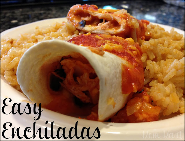 Easy Enchilada Freezer Friendly Meal Recipe with Picture Tutorial