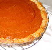 Pumpkin Pie with Butternut Squash