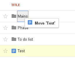 move file in google drive