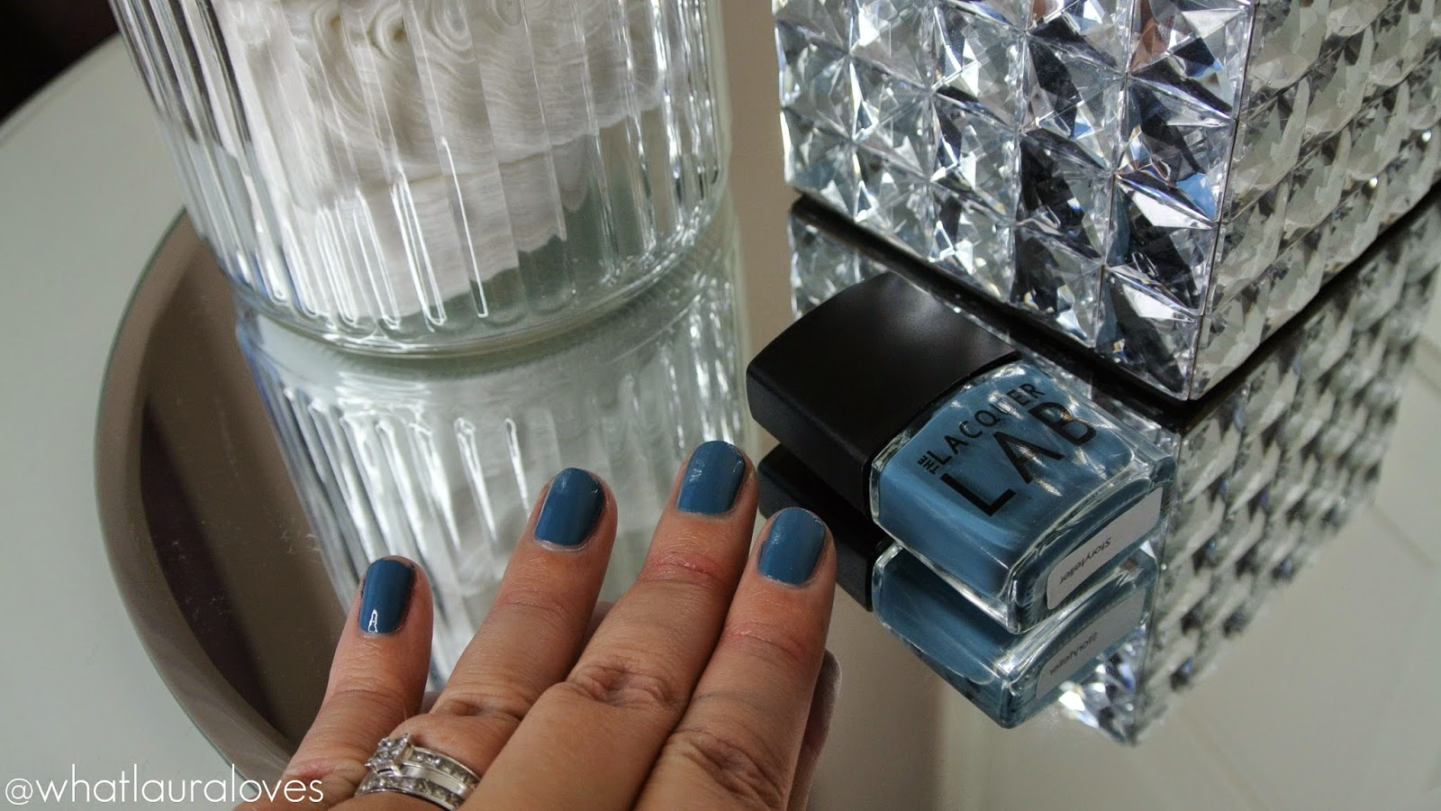 The Lacquer Lab Novella Collection Storyteller, The Wonderous, Lover At The Ritz nail polish
