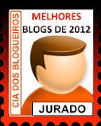 Selo Jurado Melhores Blogs de 2012