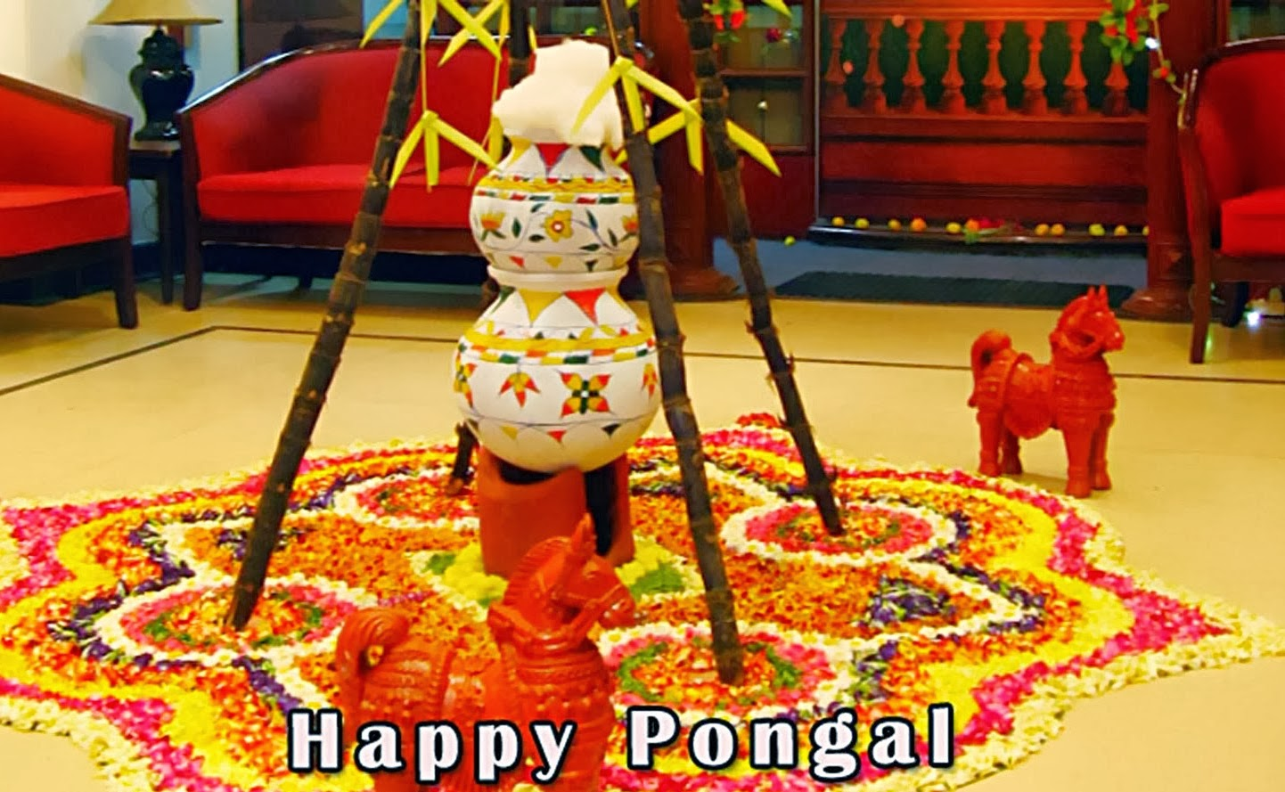 Happy Pongal Day Wishesgreeting Cardssms Messages Pongal