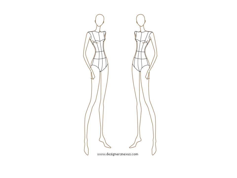 Fashion Design Body Sketches   Fashion Style Share