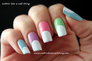 Panda Nails Tutorial nail art