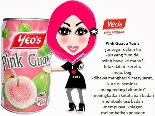 Yeo's pilihan hatiku, juice drinking