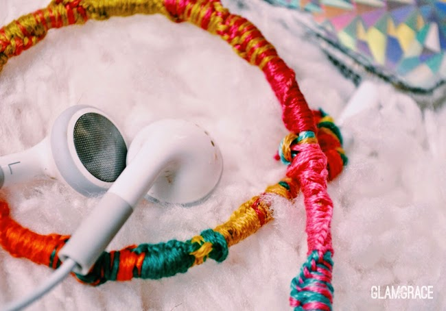 wrapped headphones DIY