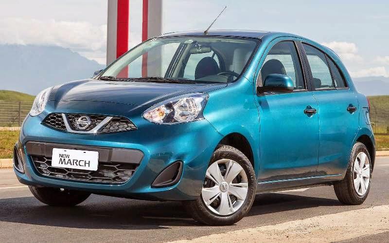 Novo Nissan March 2015 fotos lançamento