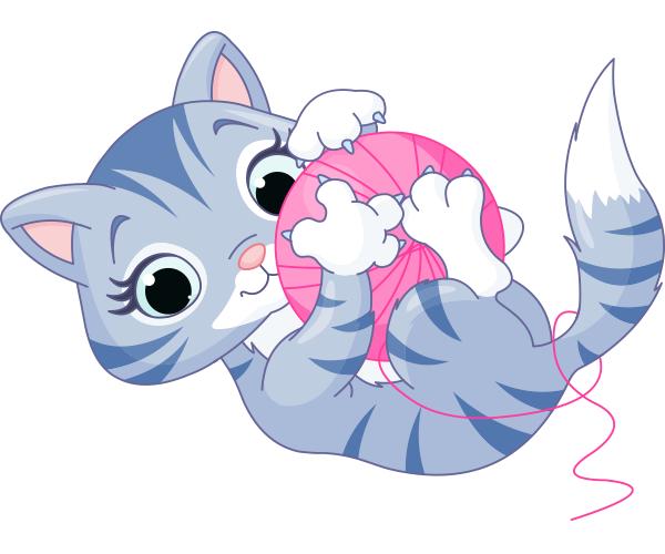 Cuddly Yarn Kitten
