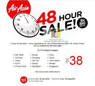 AirAsia Sale 2012