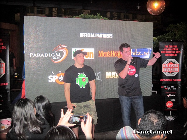 Jason Lo giving his entertaining opening speech