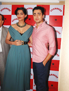 Sonam Kapoor and Imran Khan Launches Stardust Magazine (13).JPG