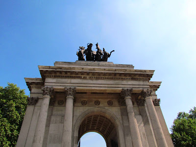 Wellington Arch, London, visit, horse, statue, day trip, admiral, Wellington, victory, architecture, arch, Napoleon, Duke, commemorate