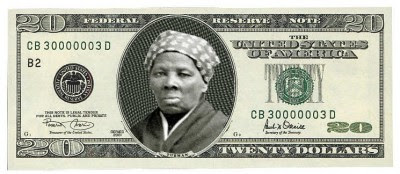Fictional Harriet Tubman $20 bill