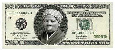 Fictional Harriet Tubman $20 bill