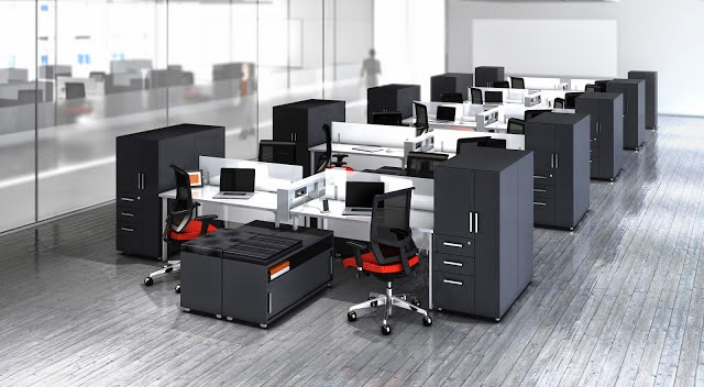 Open Desking with Power