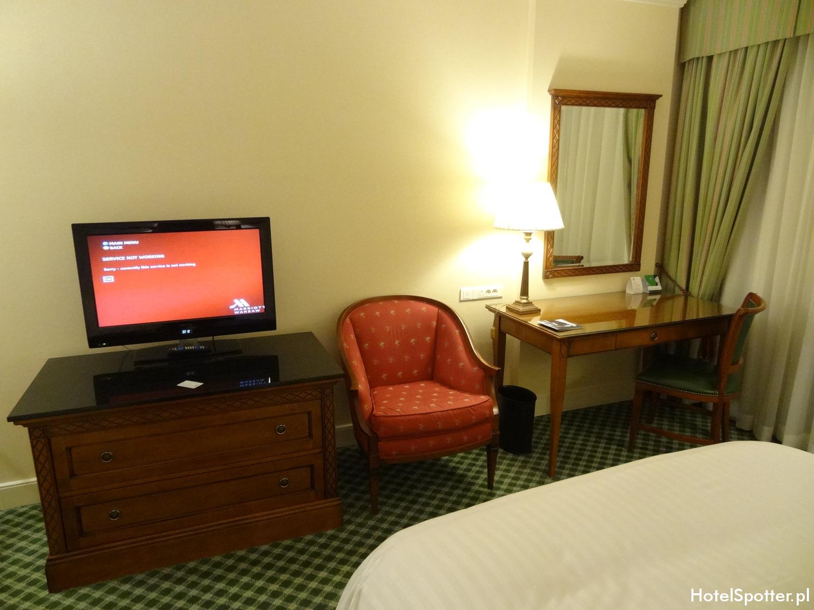 Hotel Marriott Warszawa - pokoj