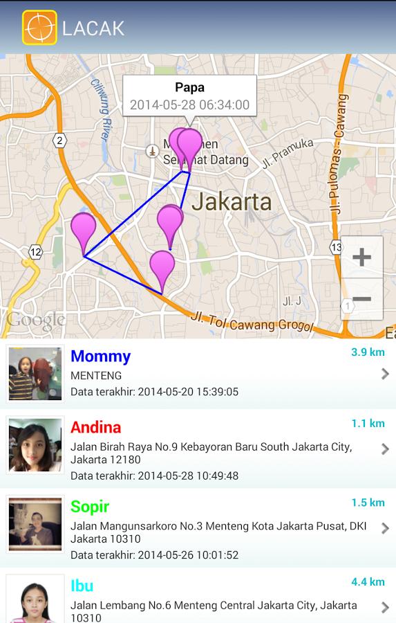 Aplikasi Pelacak Smartphone Android Saat Hilang