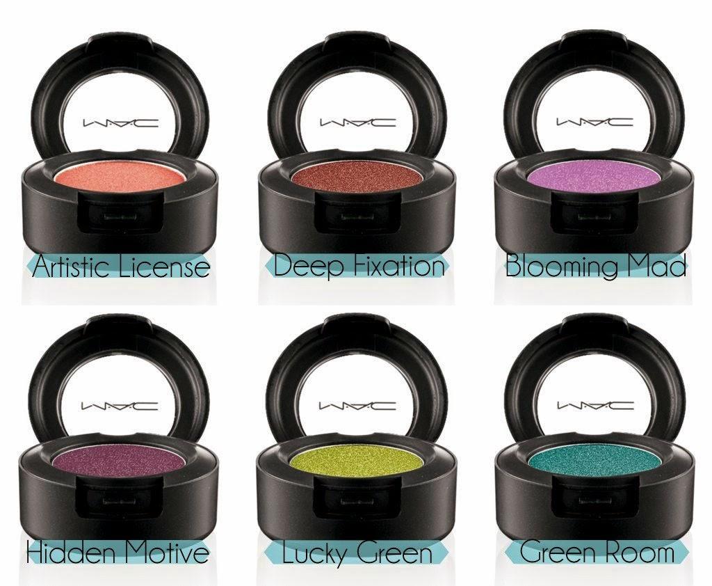 MAC Moody Blooms Eye Shadows — a Modern Mrs.