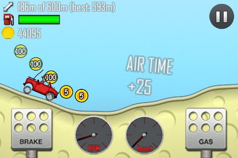 Hill Climb Racing Free App Game By Fingersoft