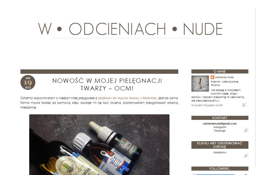 Nowy wygląd bloga, przeprowadzka i zakupy z Rossmanna/Sephory