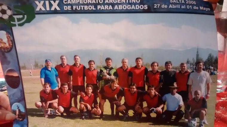 CAMPEONATO DE FUTBOL COLEGIO DE ABOGADOS DE CORDOBA