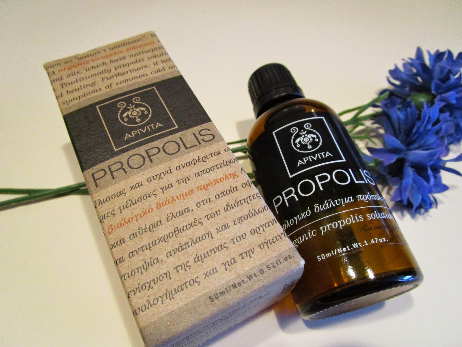 Solución Biológica de Propóleo de Apivita
