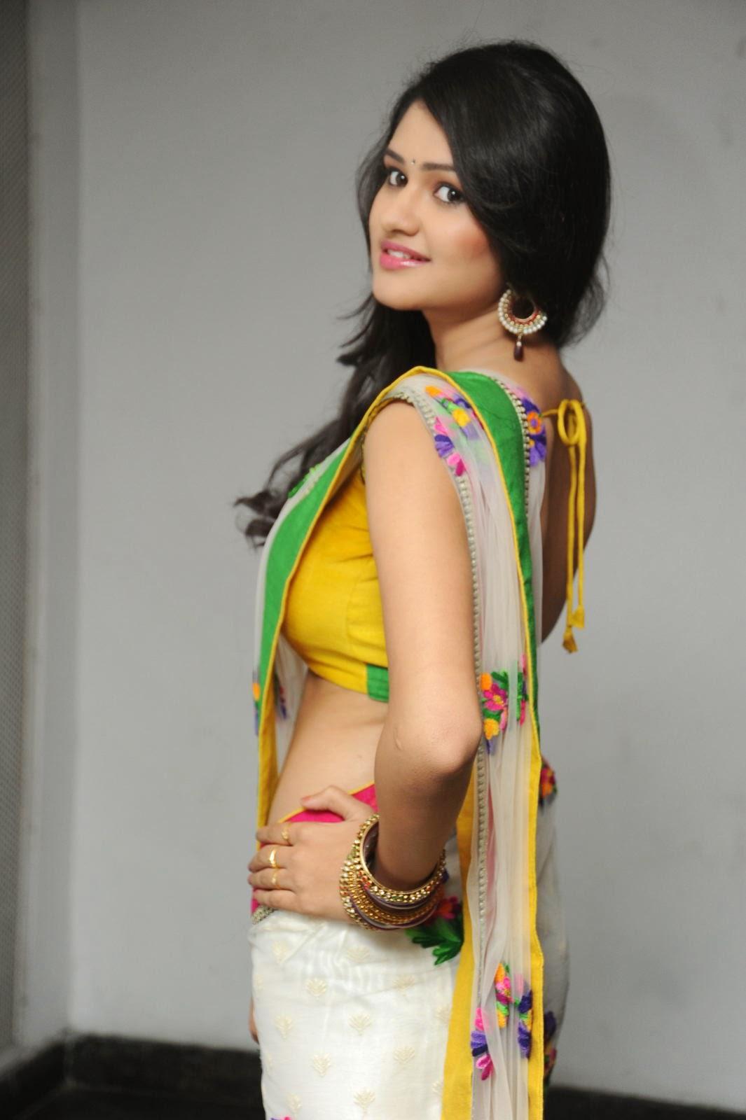 Kushi glamorous saree photos-HQ-Photo-6