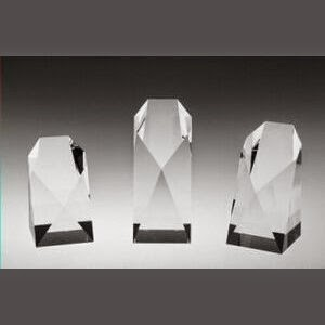 "Commemorative Tower Crystal Award - Large (7"")"