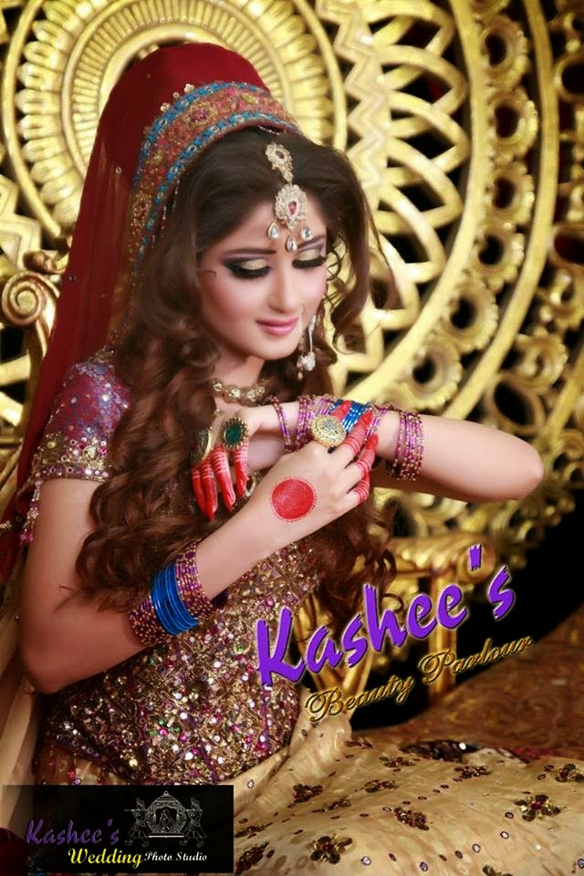 Fashion For Every One Kashees S Modern Bridal Wear Makeup Newest