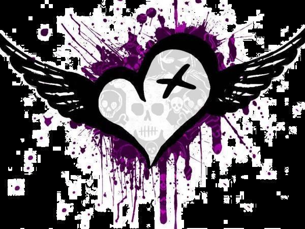 Emo Love Heart