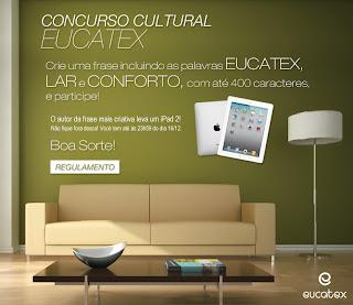 """Concurso Cultural """"Modernize sua casa com Eucatex"""""""