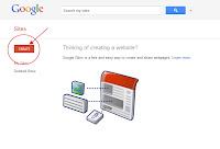 Membuat Link Download Dengan Google Site