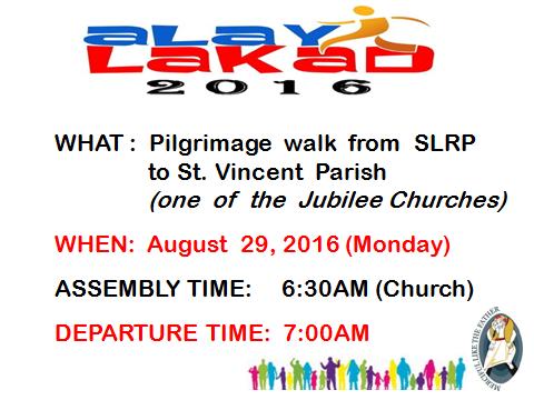 Year of Mercy Pilgrimage Walk