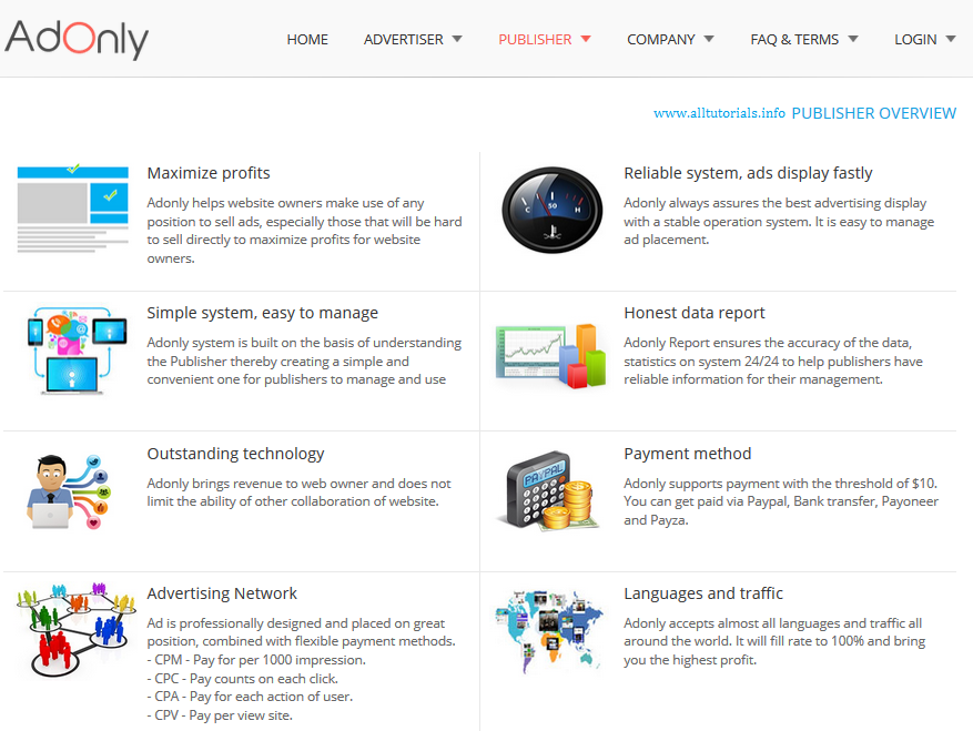 Join AdOnly Publisher