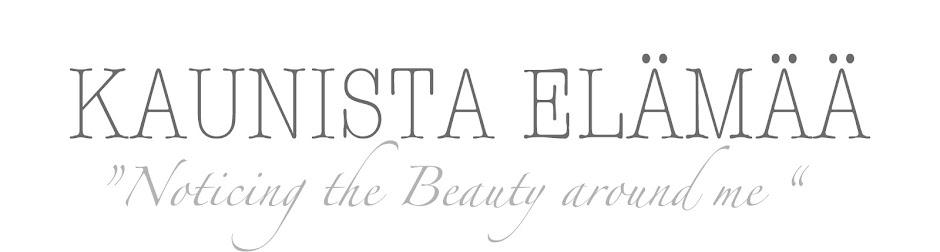 Kaunista Elämää - oma Blogilistani