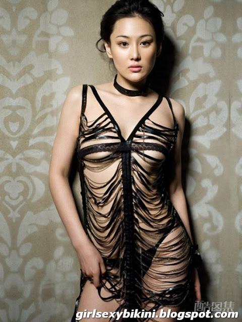 Teen sexy in bikini mesh