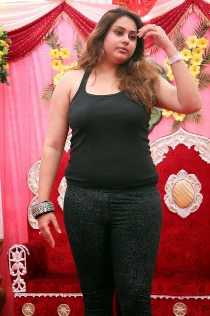 Namitha at JS Paradise Family Launch