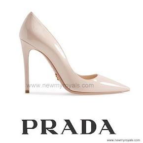 Queen Letizia Style Prada Pointy Toe Pump