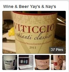 PINTEREST Wine & Beer Yay's & Nay's