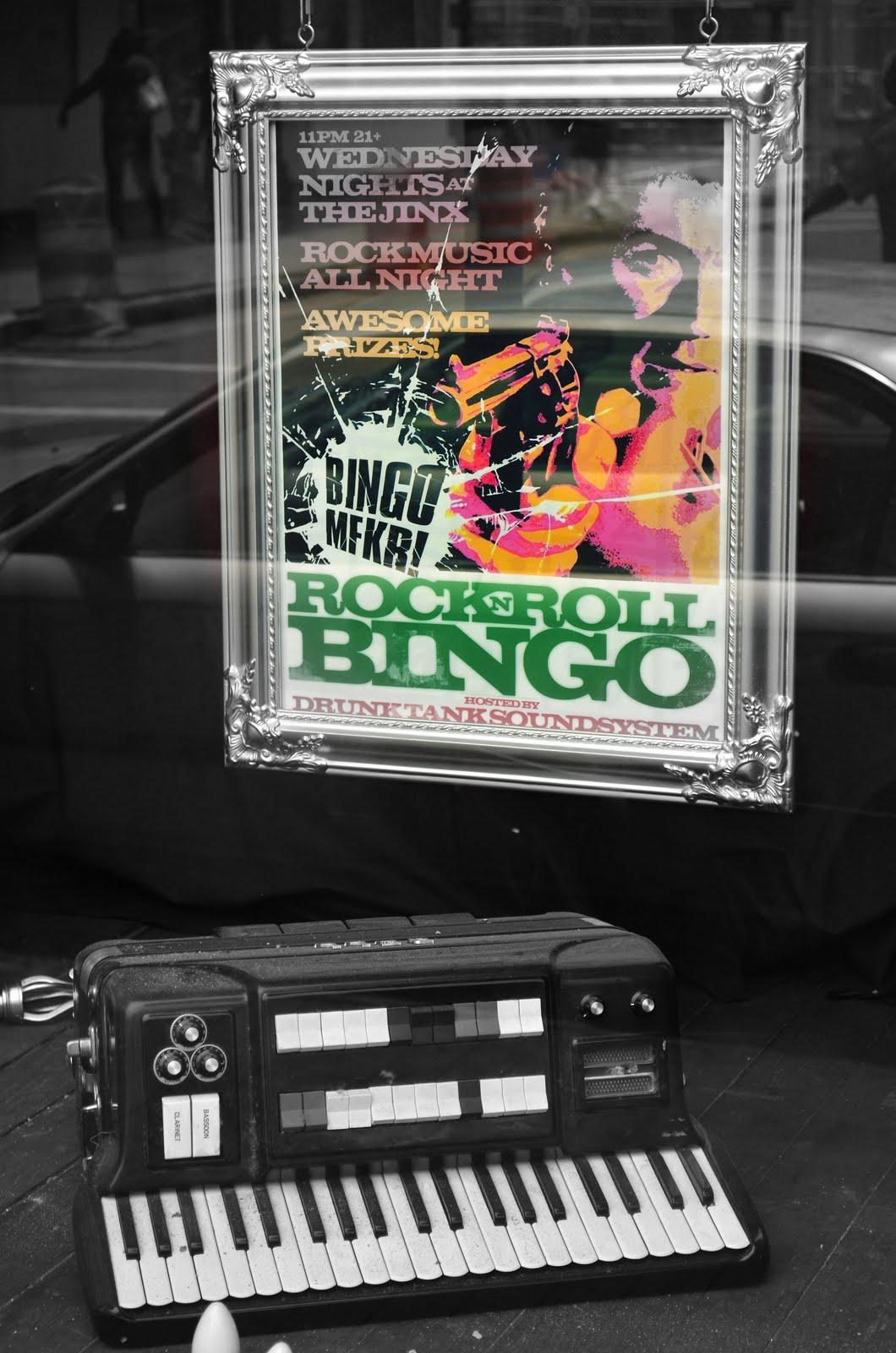 Rock N Roll Bingo Mfkr Pdg Photography Store