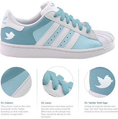 Fabulous Shoes of Google, Facebook & Twitter