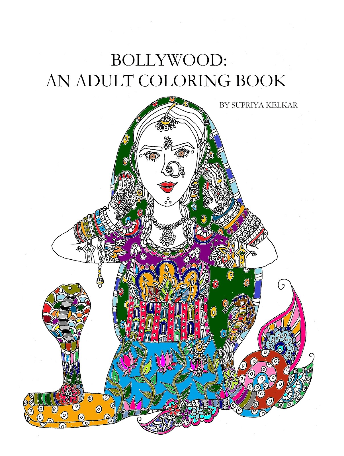 Bollywood: An Adult Coloring Book
