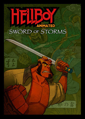 Watch Hellboy Animated: Sword of Storms 2006 BRRip Hollywood Movie Online | Hellboy Animated: Sword of Storms 2006 Hollywood Movie Poster