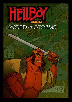 Watch Hellboy Animated: Sword of Storms 2006 BRRip Hollywood Movie Online | Hellboy Animated: Sword of Storms 2006 Hollywood Movie Poster